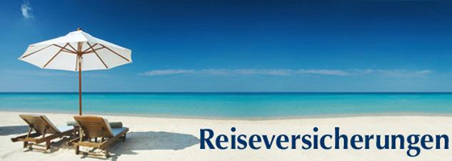 Reiseversicherungen Online abschließen